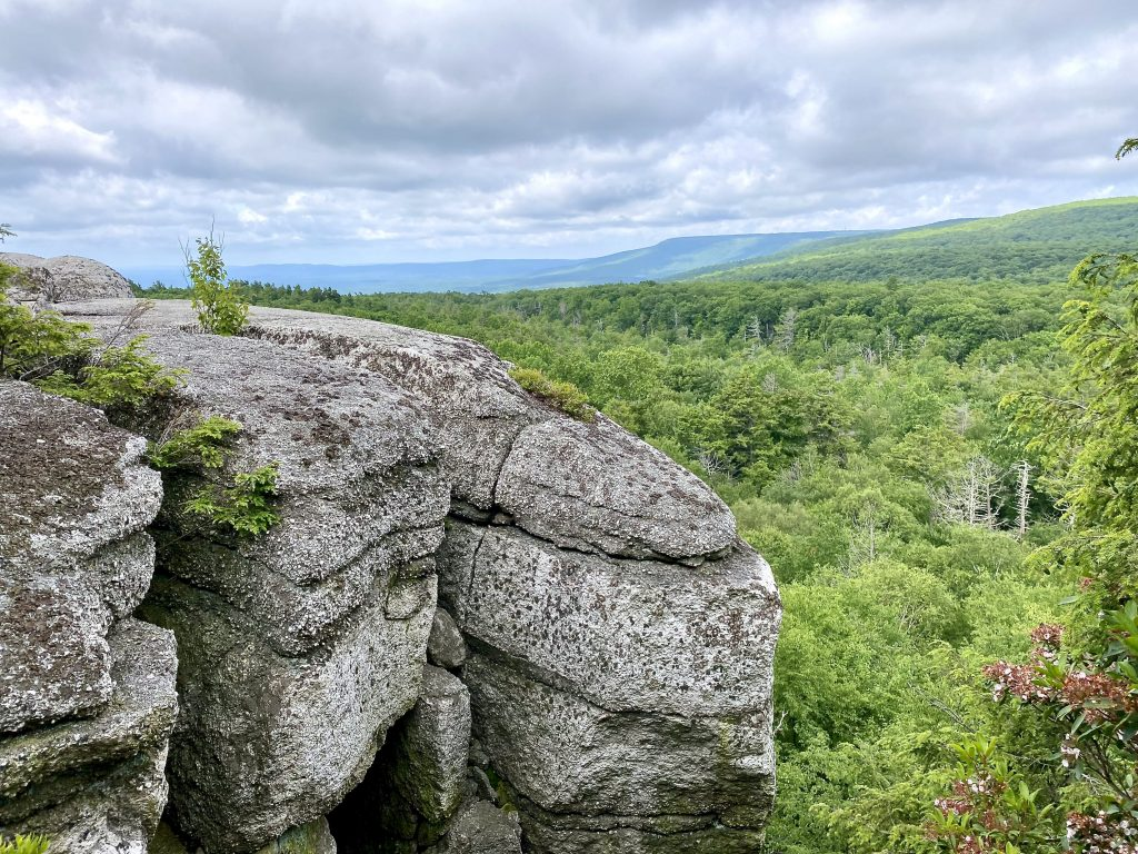 Outcropping in Shawgunks